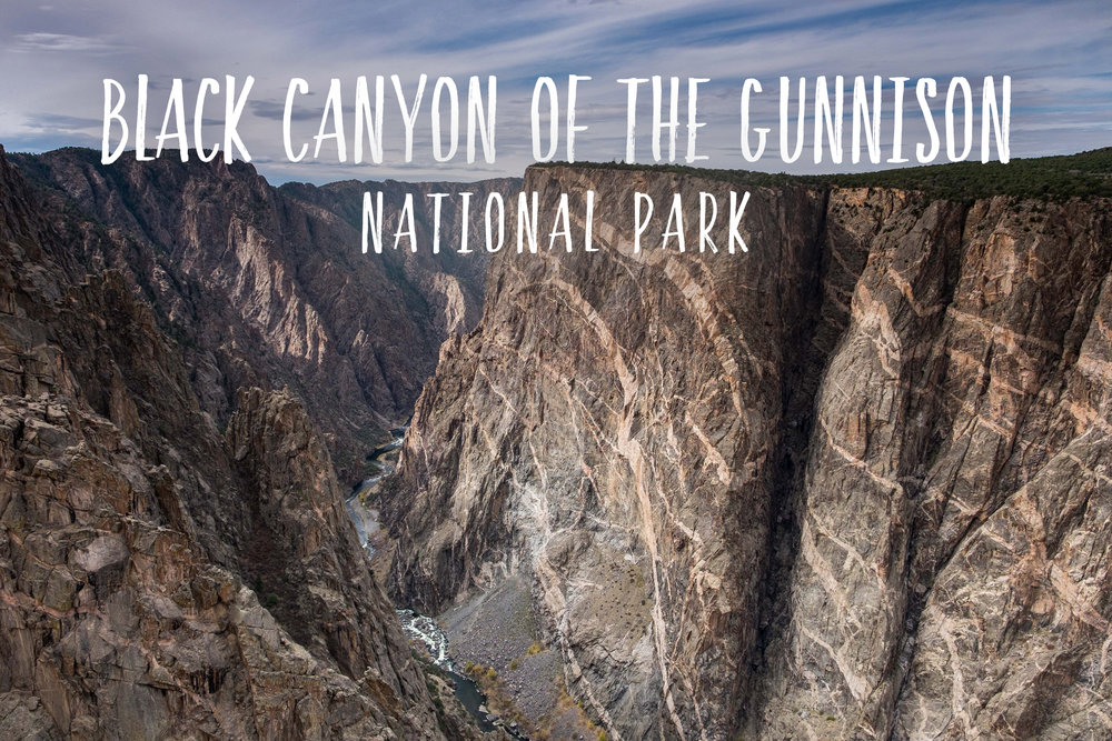 Park 49/59: Black Canyon of the Gunnison National Park in Colorado.