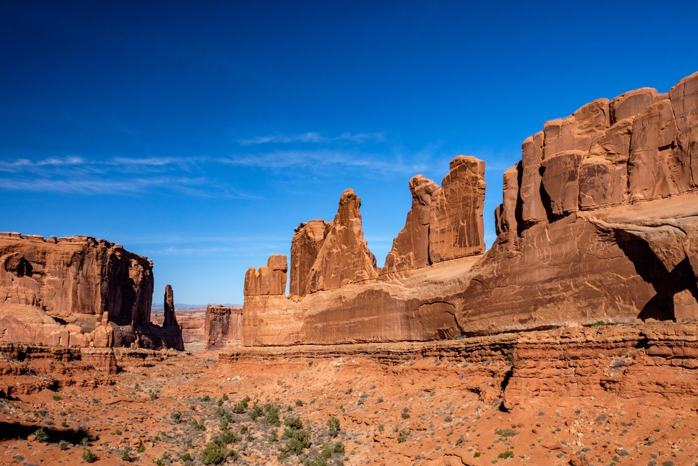 The Park Avenue formations near the front entrance are some of the first formations you see when entering the park.