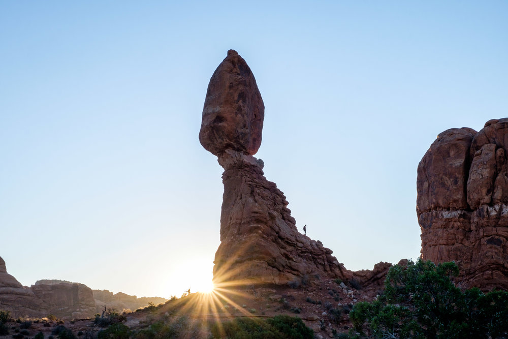 Balanced Rock is one of the most popular destinations in the park.