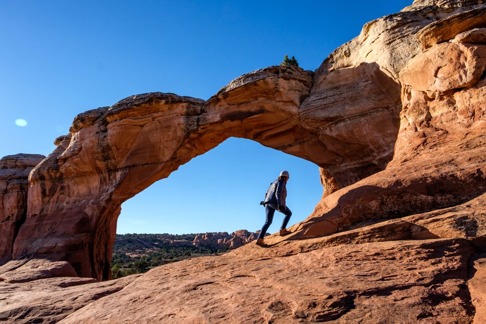 We first explored Broken Arch.