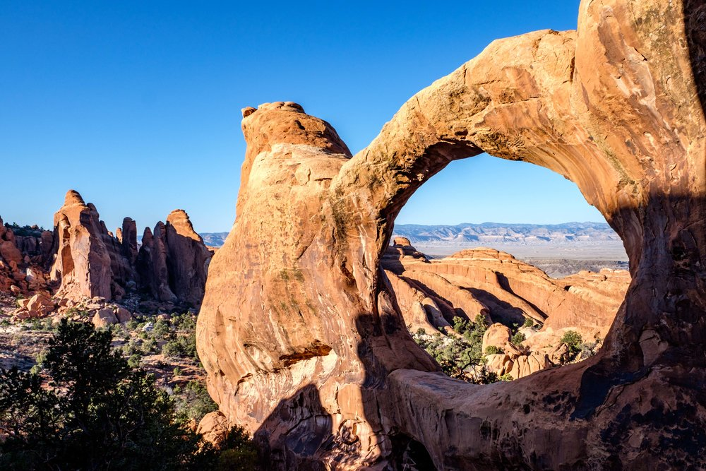 Double O Arch is another famous and really neat arch.