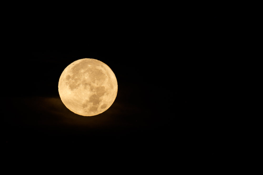 The Supermoon in its full glory.