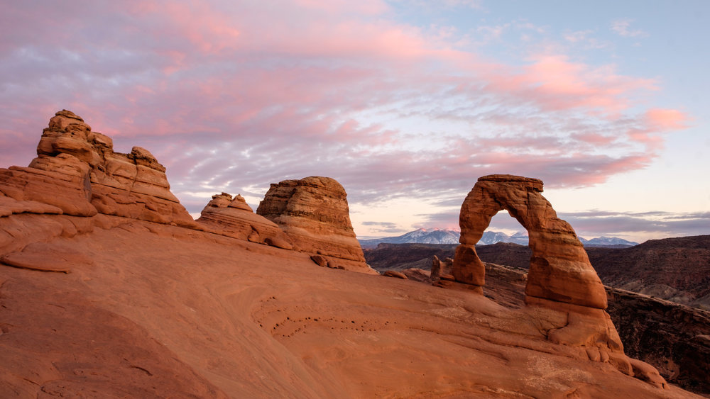 One last beautiful Delicate Arch shot. We will miss Arches National Park. Until next time, Onward!