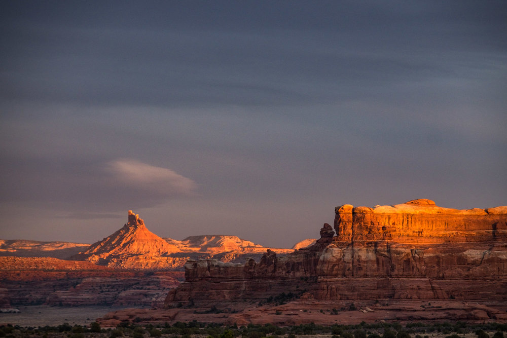 Golden hour in the Canyonlands!