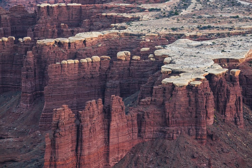 Geologic wonders  abound in Canyonlands.