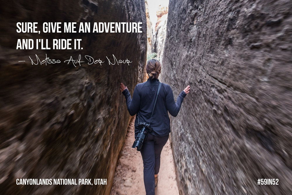 'Sure, give me an adventure and I'll ride it.' Melissa Auf der Maur | MAdM Official
