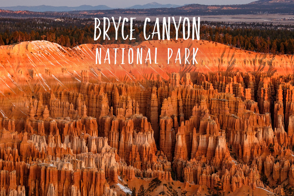 Park 53/59: Bryce Canyon National Park in Utah