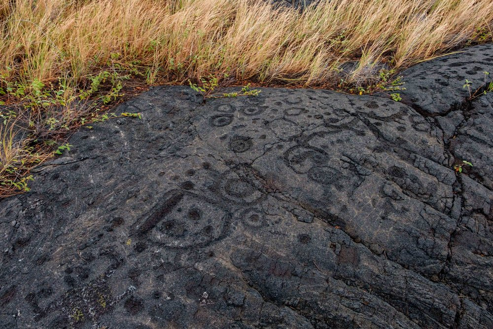 There are some 23,000 petroglyphs at this ancient site, which is considered sacred to Hawai'ians.