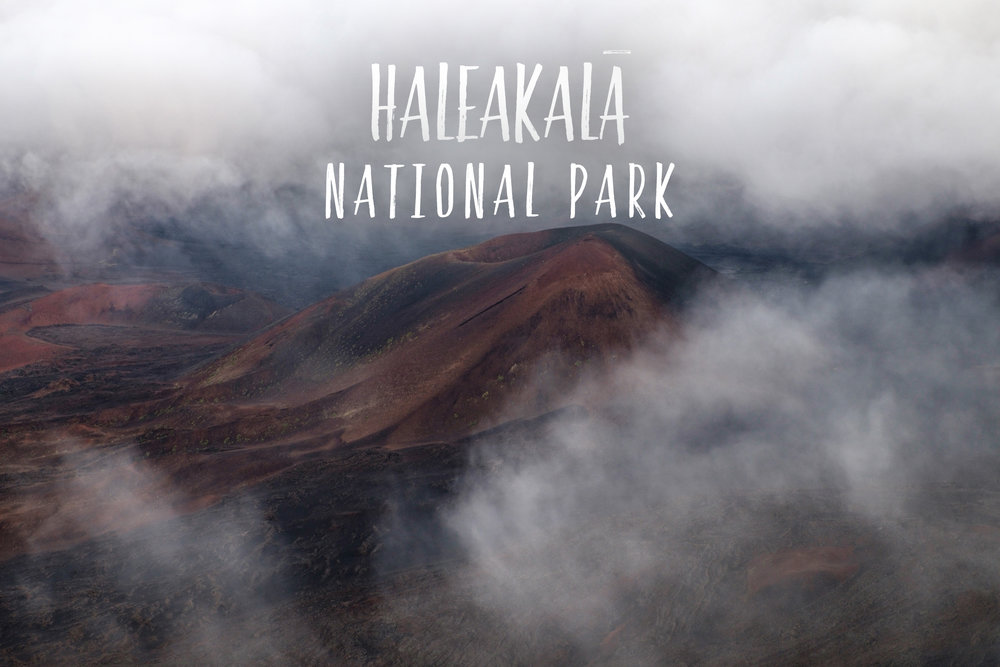 Park 55/59: Haleakala National Park on the island of Maui, Islands of Hawai'i
