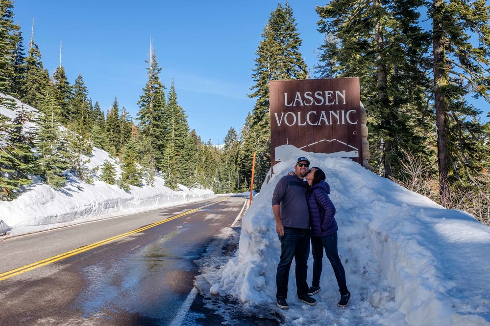 Lassen Volcanic National Park...park number 58 of 59!