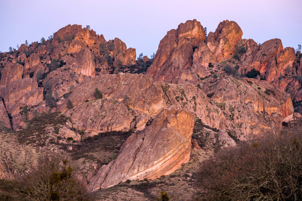 What a strange and beautiful park Pinnacles is!