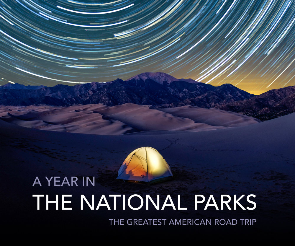 Limited inventory remaining! - A YEAR IN THE NATIONAL PARKS: The Greatest American Road TripAvailable on Amazon.comPrice: $59.52