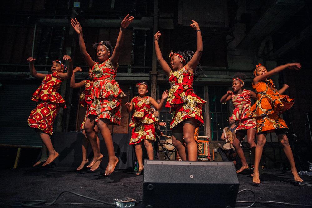 Kukatonon Children's African Dance Troupe