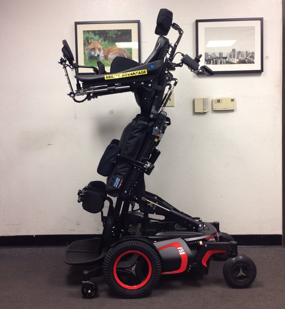 Permobil F5VS Stander - Drive while Standing or Sitting or in any position...ORBIT