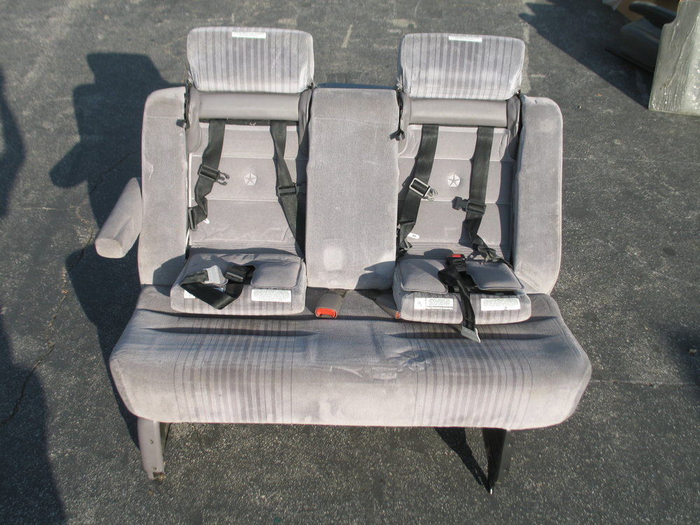 92-95 Caravan Built-In Child Seats Bench $40  for the Mid-Row.