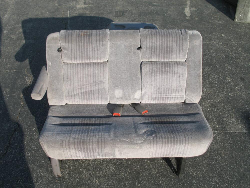 92-95 Caravan Rear Bench $30