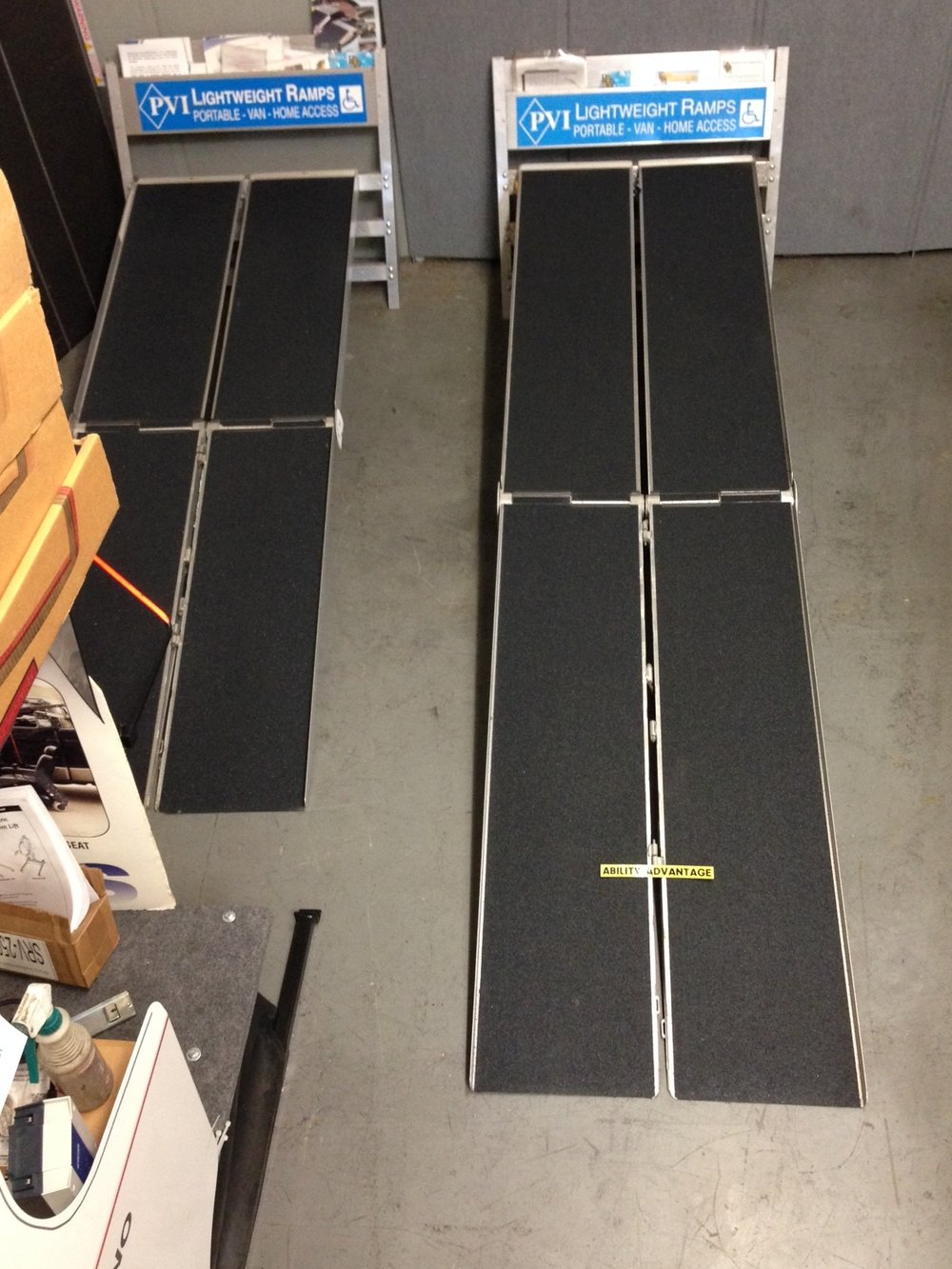 Prairieview Multifold Portable Ramps