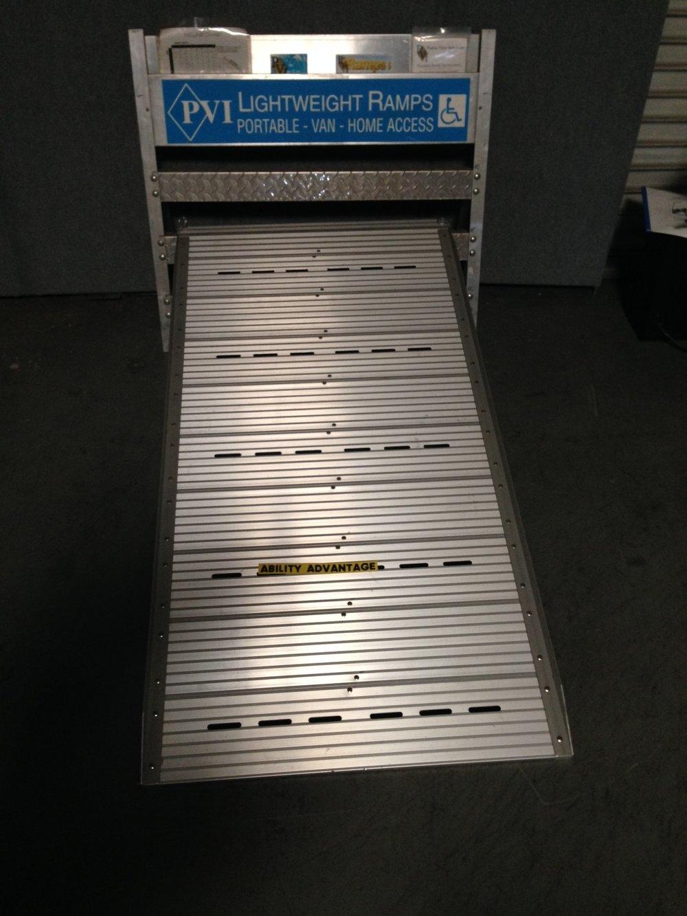"Pride Mobility 5' x 29"" aluminum ramp"