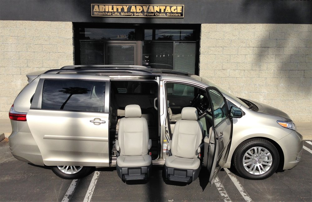 2 BRUNO VALET LIMITED's - Installed in a 2016 Toyota Sienna XLE