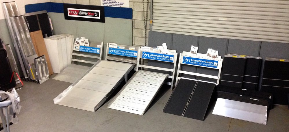 CURRENT RAMP DISPLAY - Prairie View Industries - EZ Access - Pride Mobility