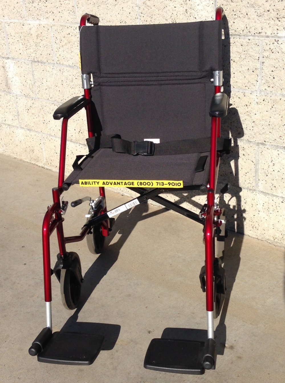Nova Ultralight Transport Chair