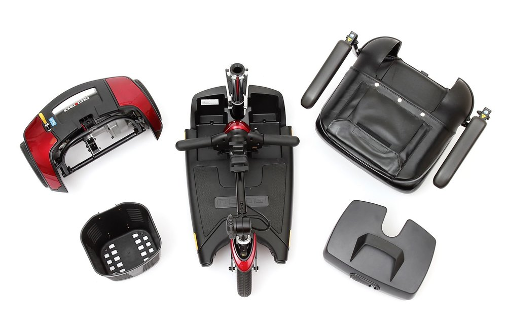 Disassembled Elite Traveller Plus 3