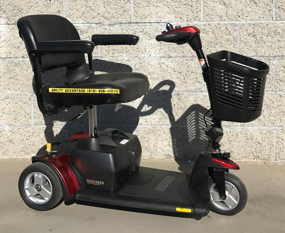 Pride Go Go Elite Traveller Plus, 3 wheel