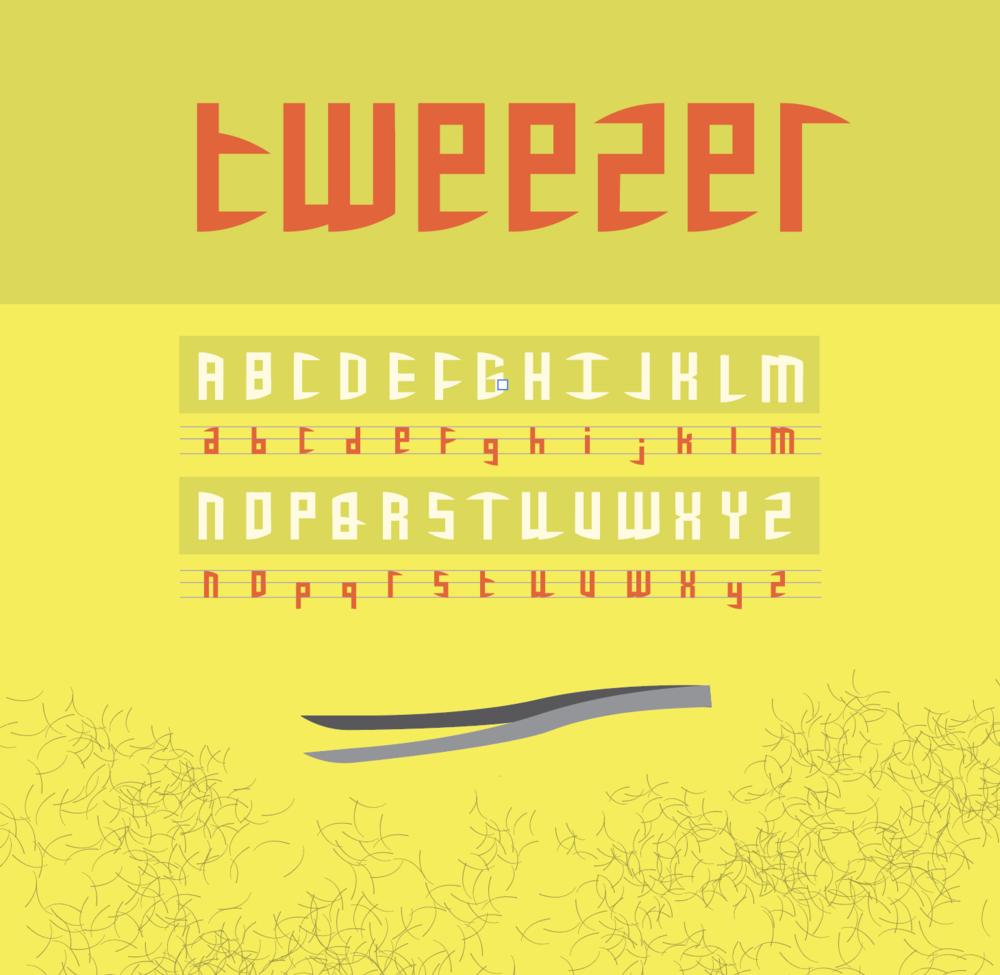 Tweezer - Custom Font