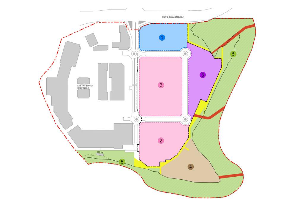 Homeworld Helensvale Masterplan