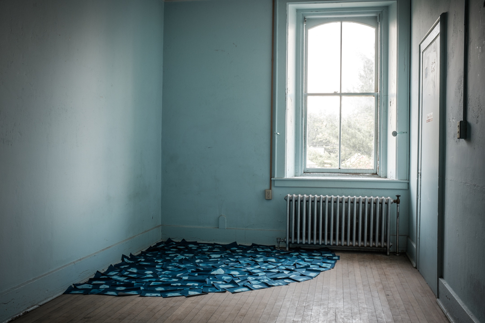 Mary Zompetti, Installation