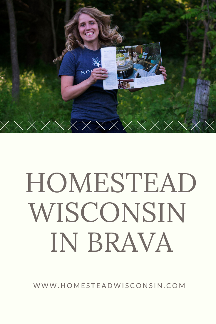 Brava Magazine | Homestead Wisconsin | Madison Wisconsin