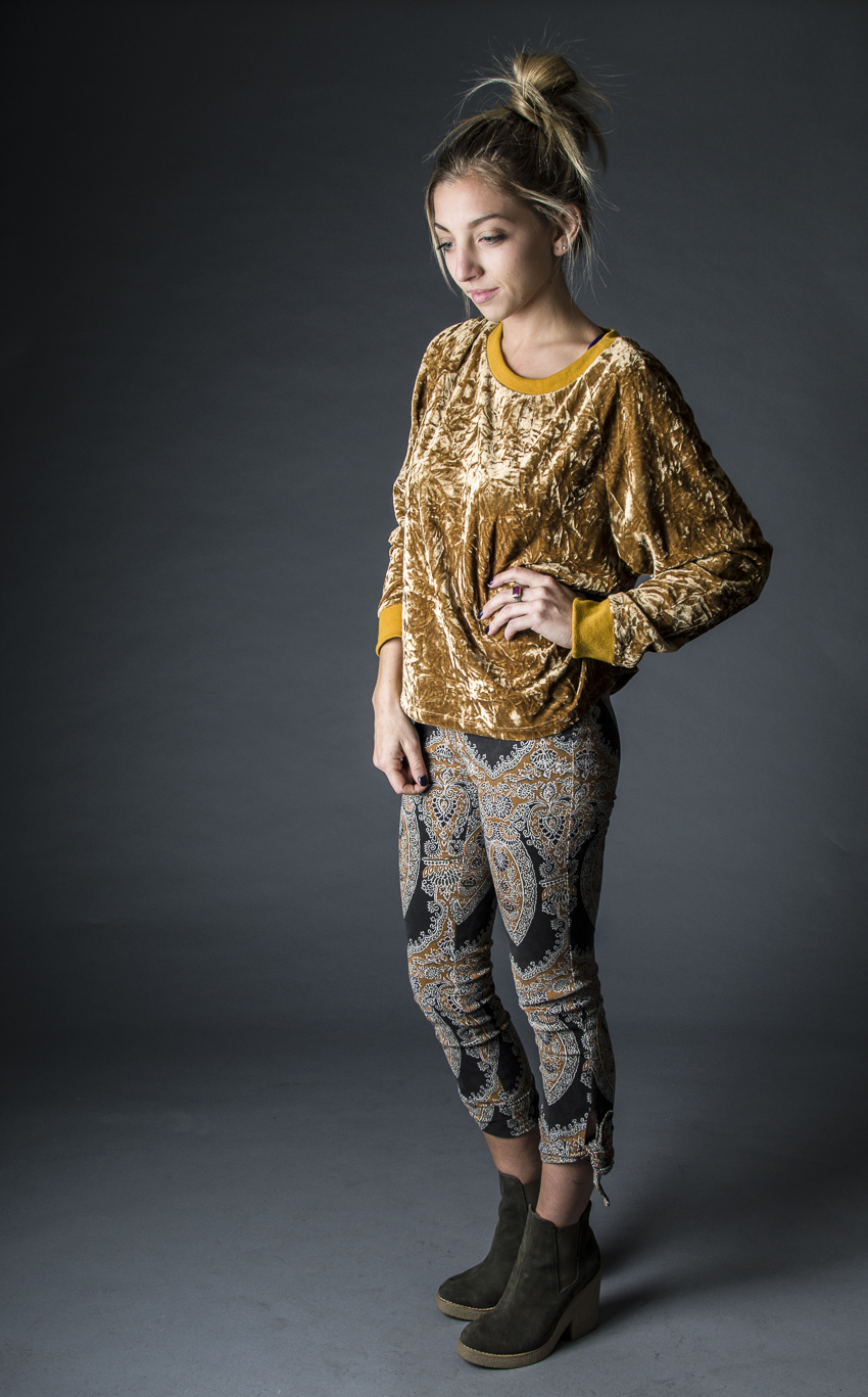 Velvet top- Urban Outfitters