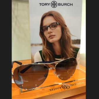 8aa9720218 We are excited and pleased to announce the launching of our newest line of  eyewear . . . Tory Burch!