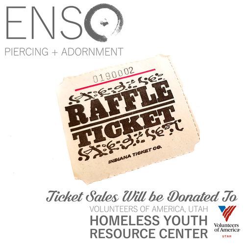 ENSO Piercing + Adornment — Raffle Ticket