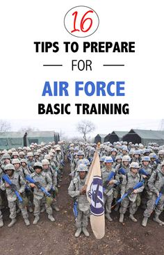 Air Force BMT and Tech School Prep — Airman Vision
