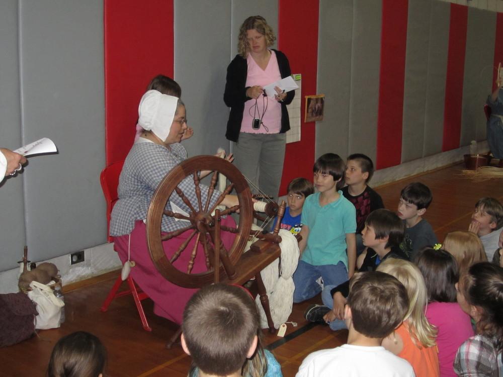 Historic Spinning