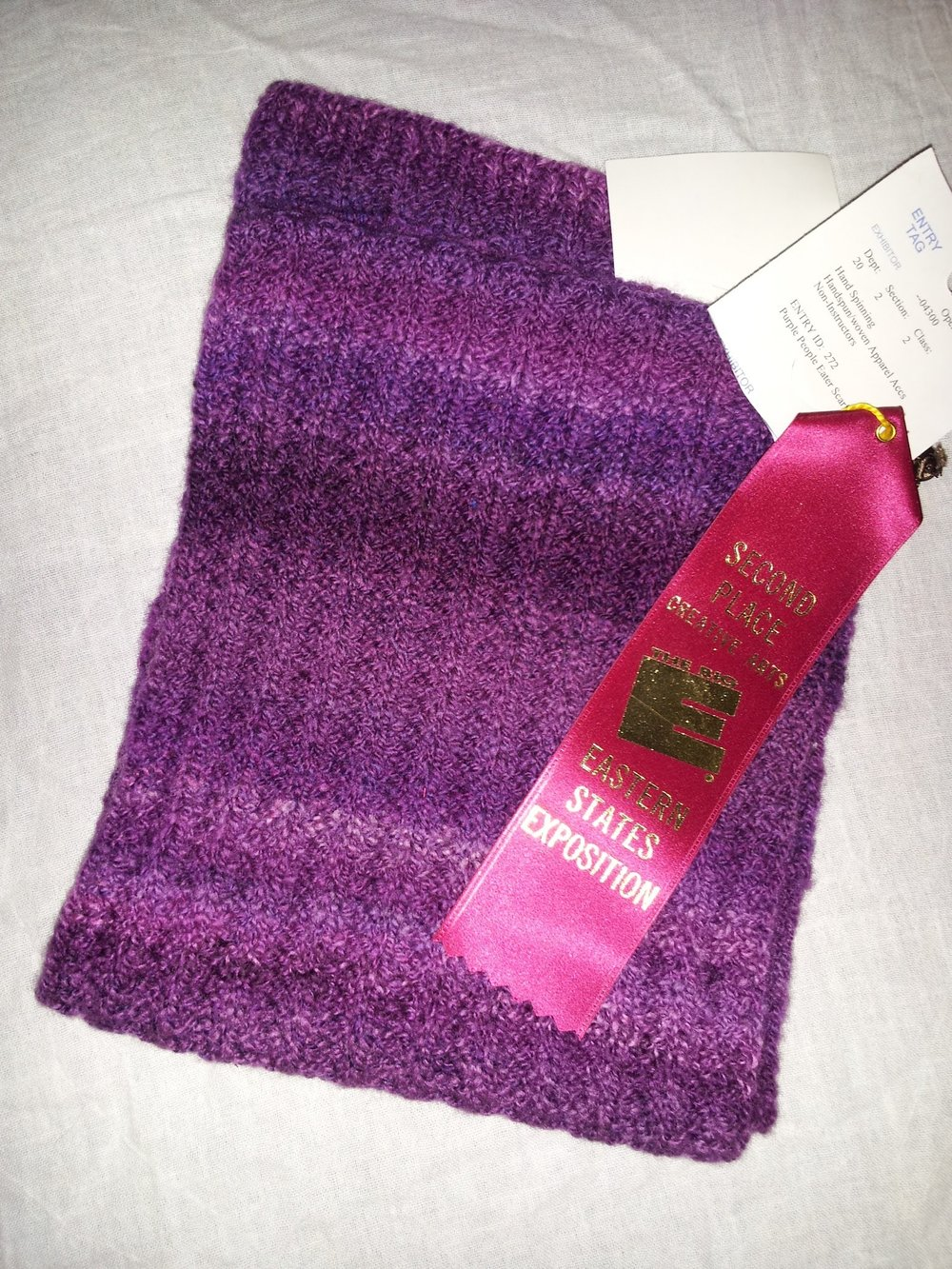 Purple People Eater Scarf