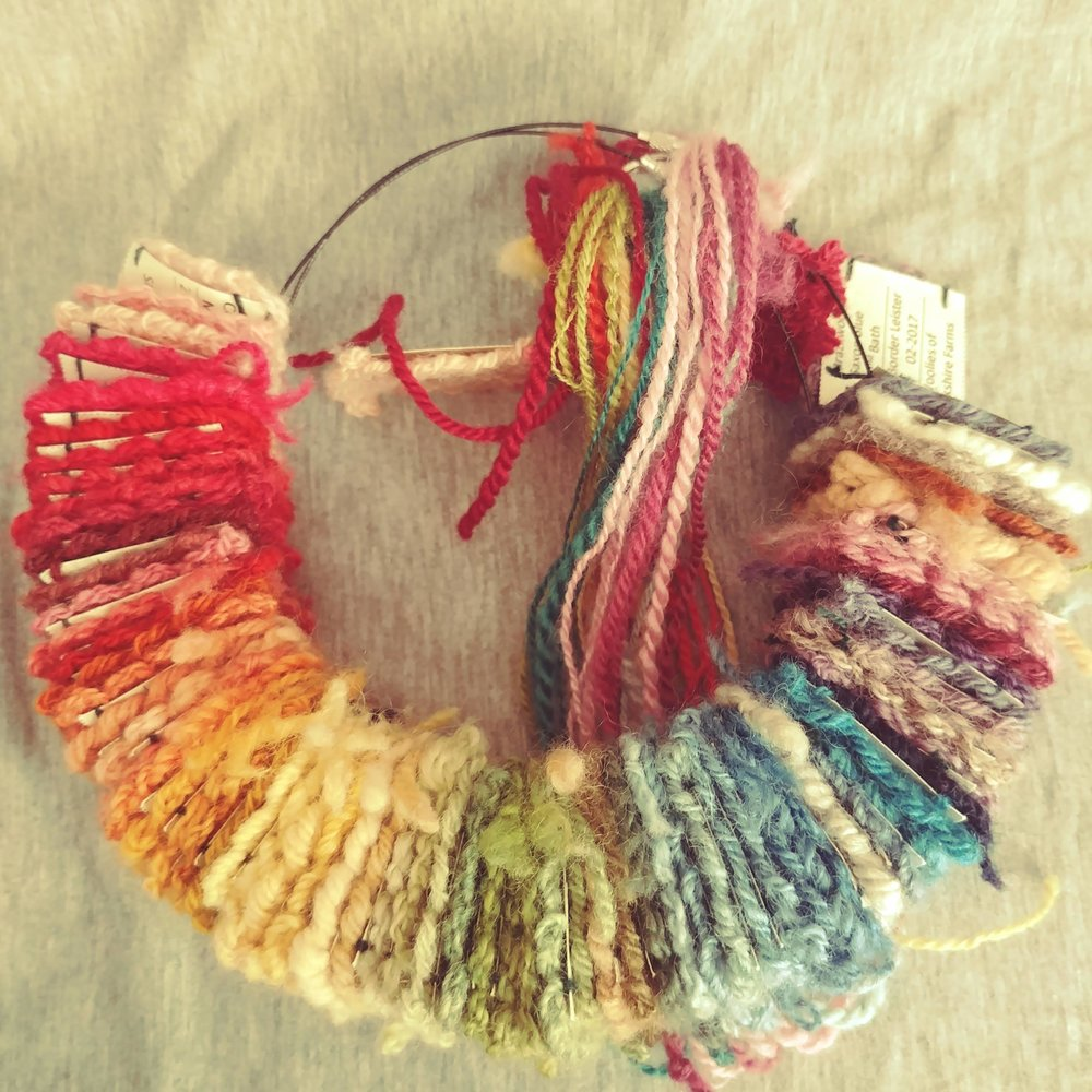 Naturally Dyed Fiber