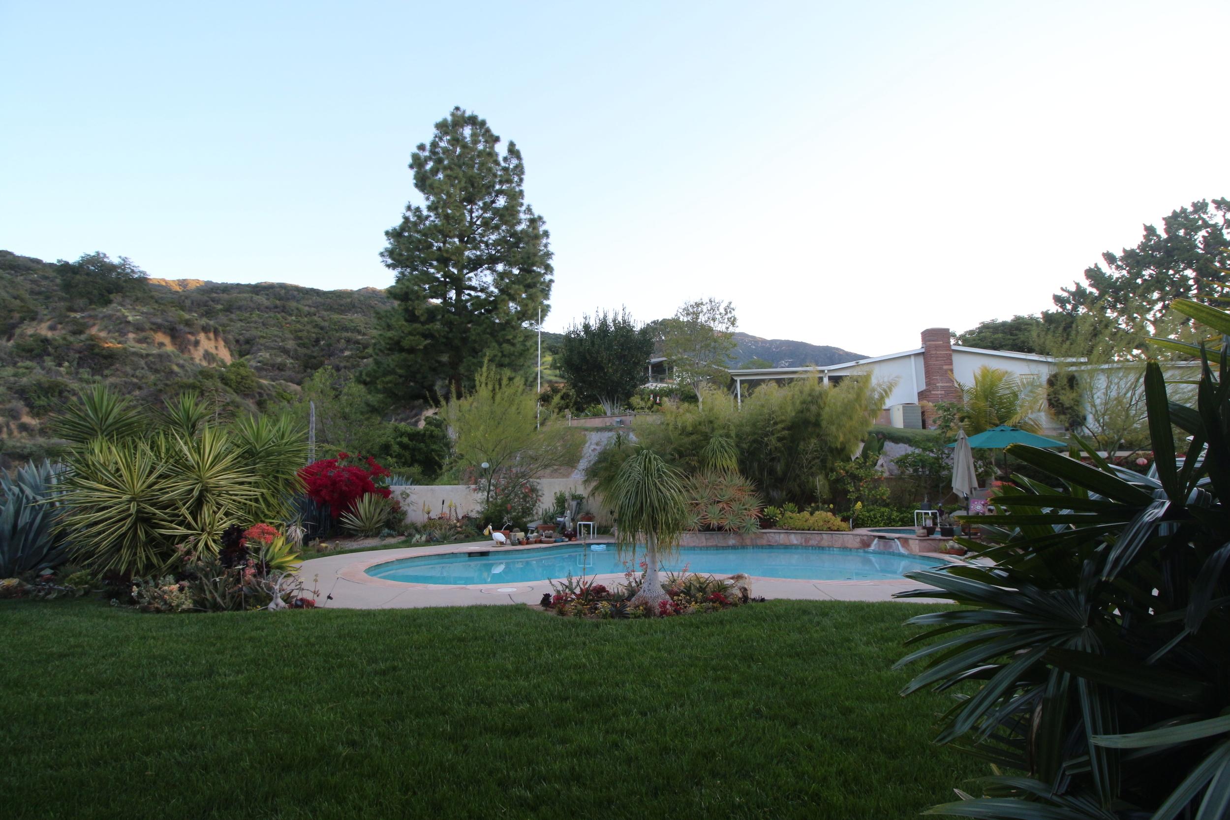 airbnb mountain in the backyard monrovia california. Black Bedroom Furniture Sets. Home Design Ideas