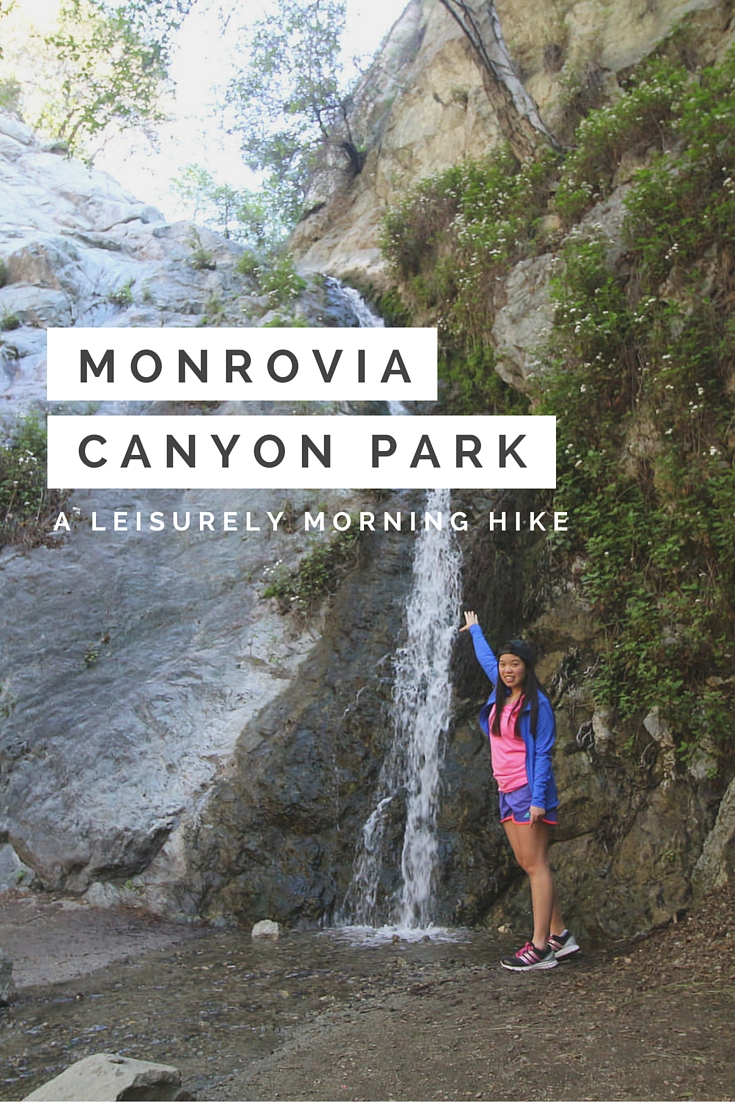 Monrovia Canyon Park - a leisurely little hike in Souther California, with lots of little flies, no bears and a little bit of water. Still! It was a nice morning hike full of shade and fresh air.