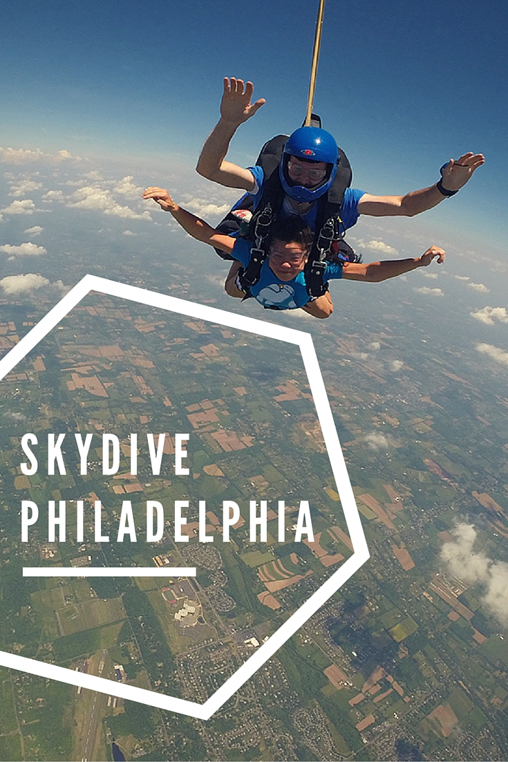 Looking to throw your best friend and brother out of a plane 14,000 ft off the ground? Skydive Philadelphia is only an hour away from the city and has a great crew to make you feel at ease.