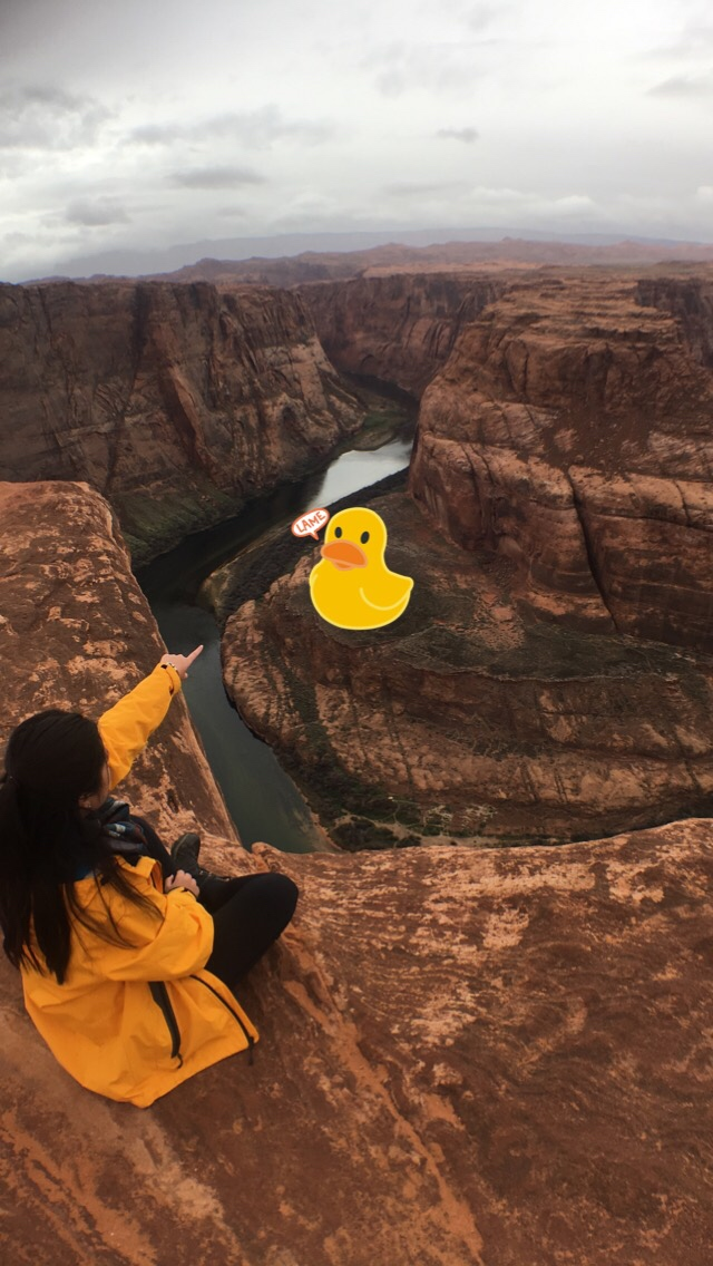Found a ducky at Horseshoe Bend!