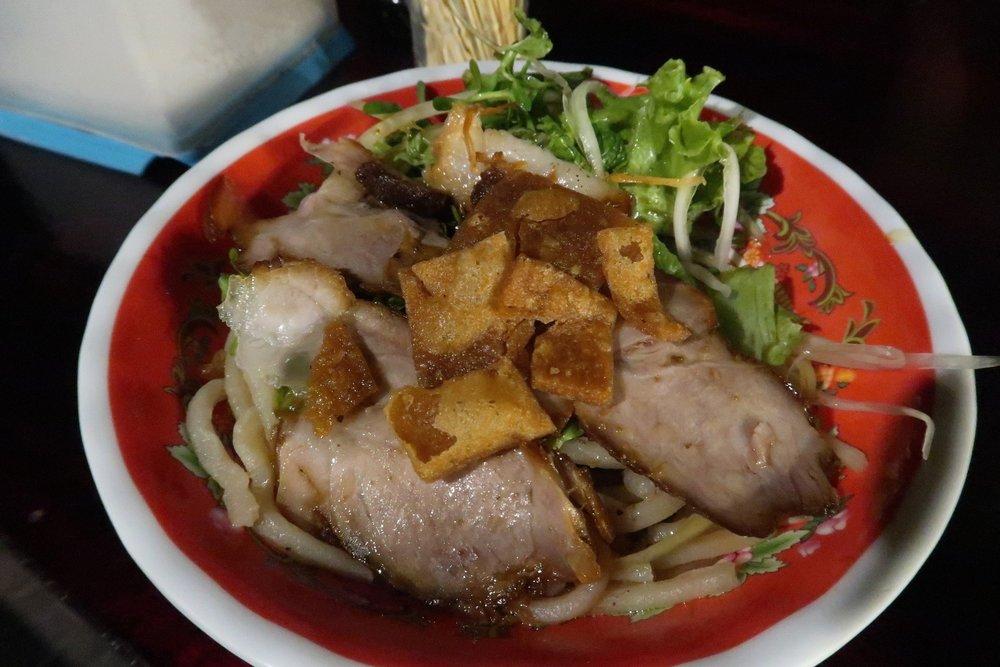 Cao lau local to Hoi An