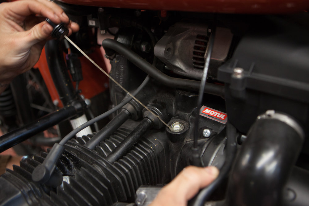 FULL SERVICE SHOP - Don't have the time or expertise for some advanced repairs, and don't want to pay dealer rates? Our factory trained and certified technical team has you covered.They're able to take care of general maintenance or even in-depth repair work, can install any accessories or custom parts. They're pretty rad to boot, which doesn't hurt. Just don't try to take their picture. They hate that.