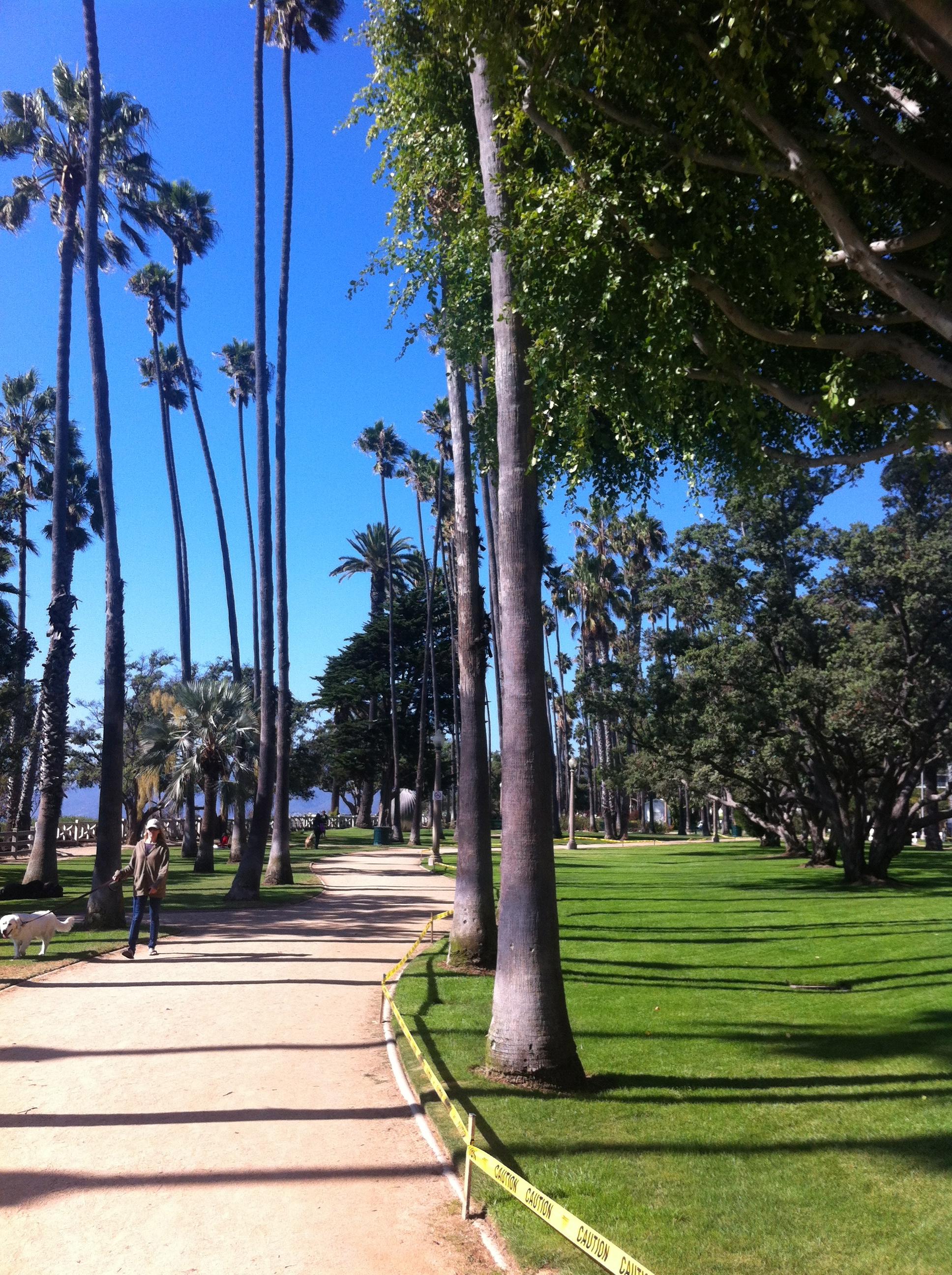 Palisades Park Walk