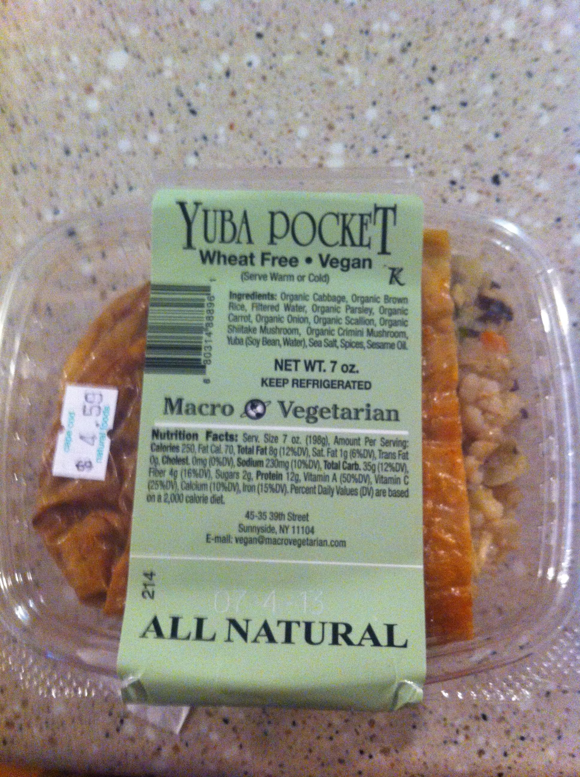 macro vegetarian