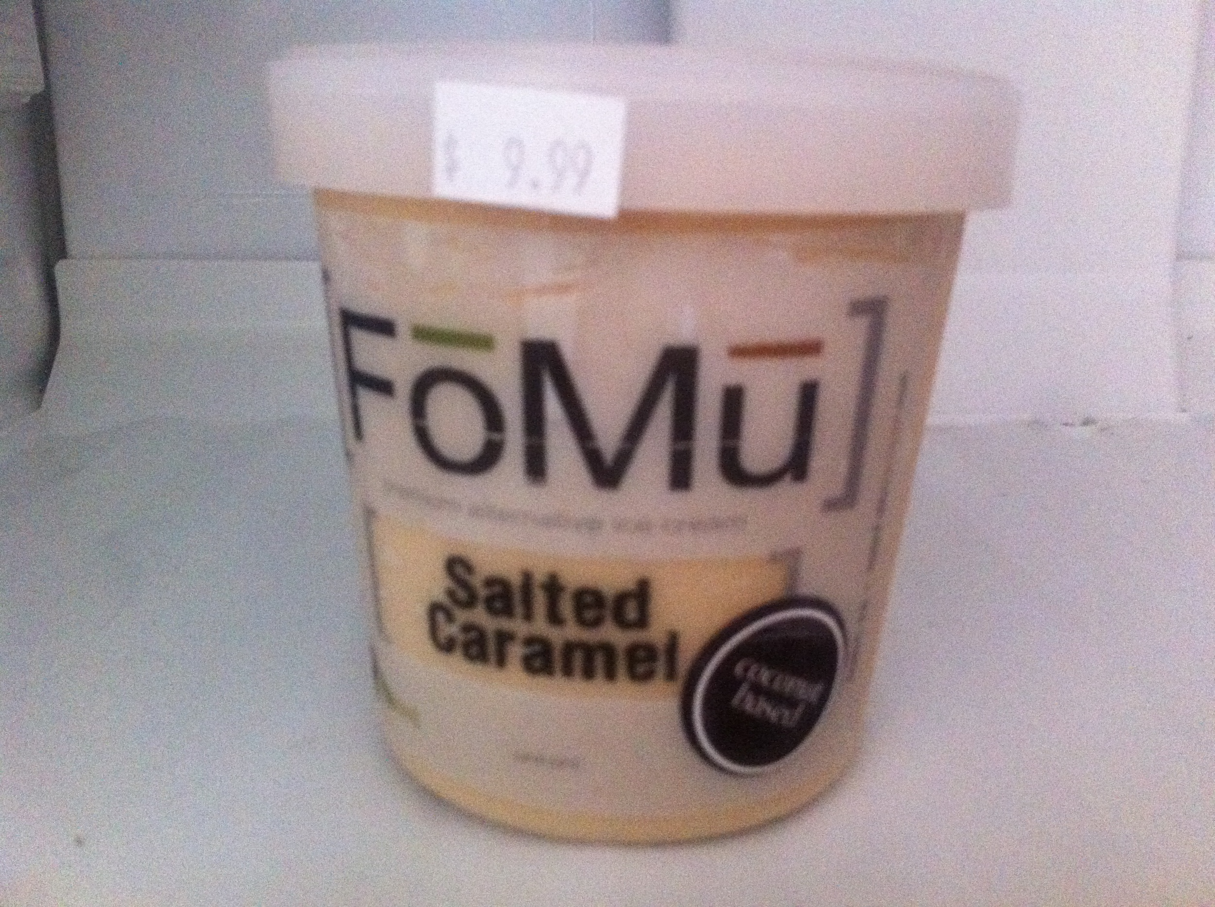 FOMU, vegan ice cream Boston
