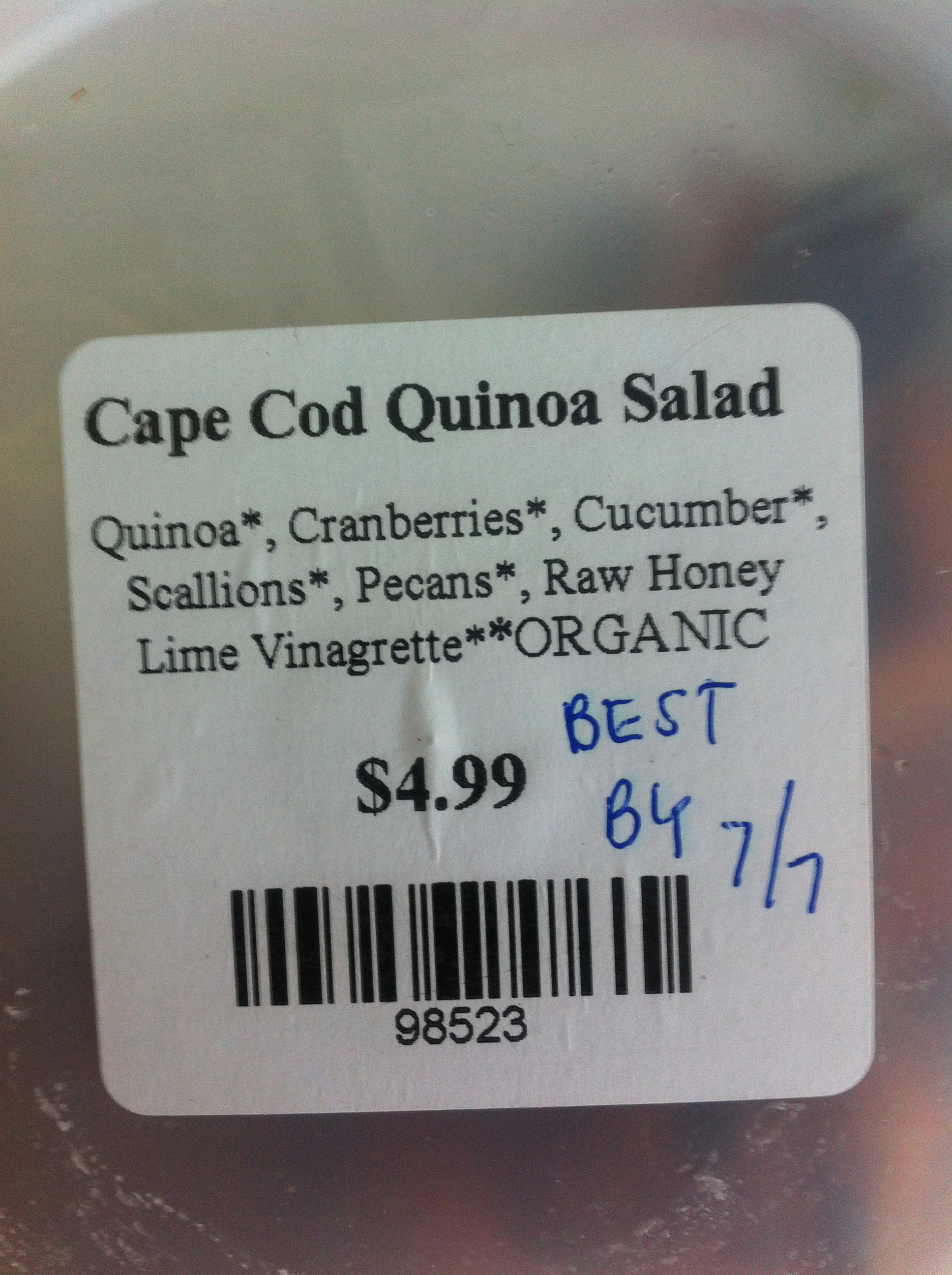 cape cod natural foods
