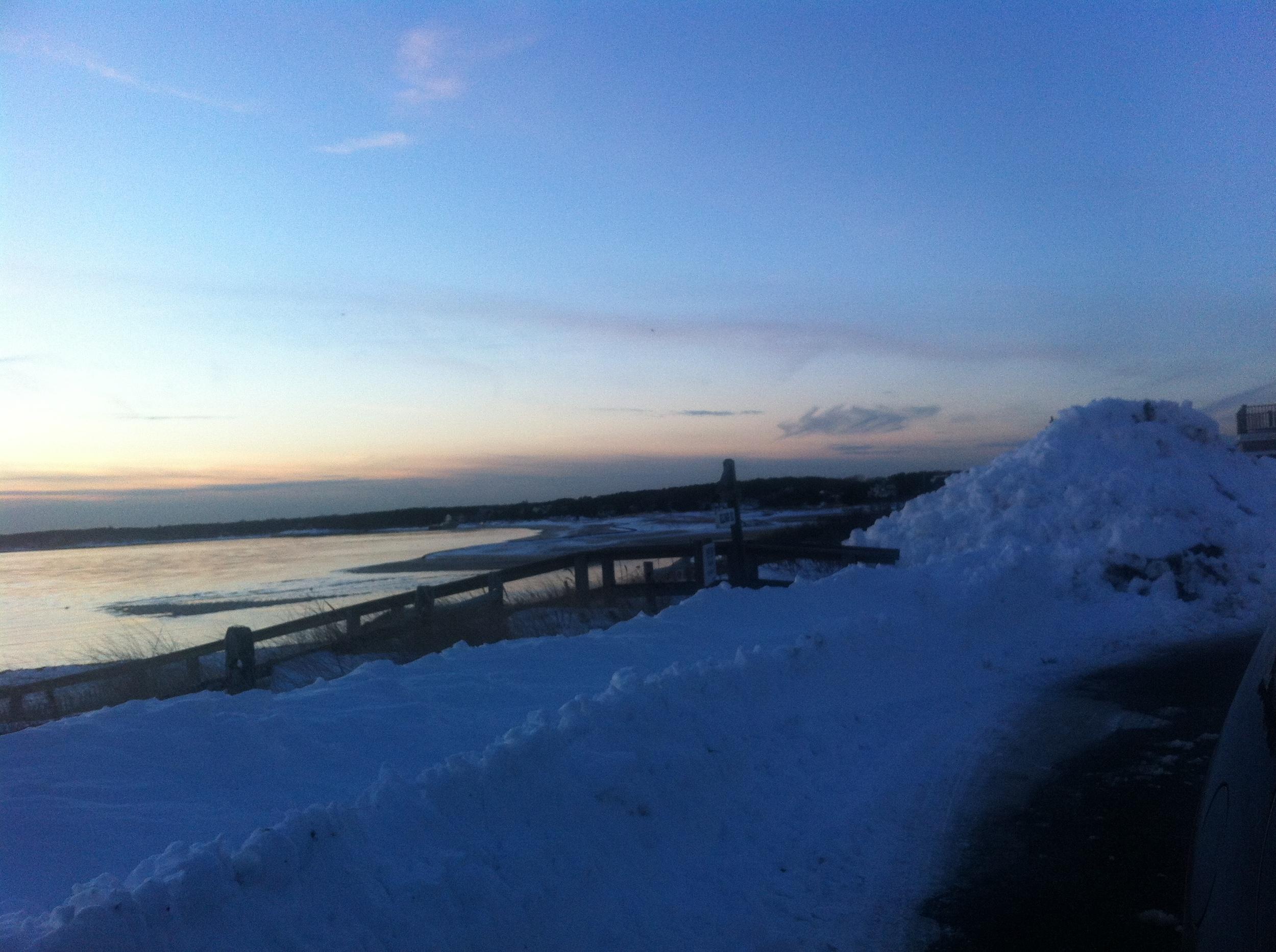 cape cod snow storm