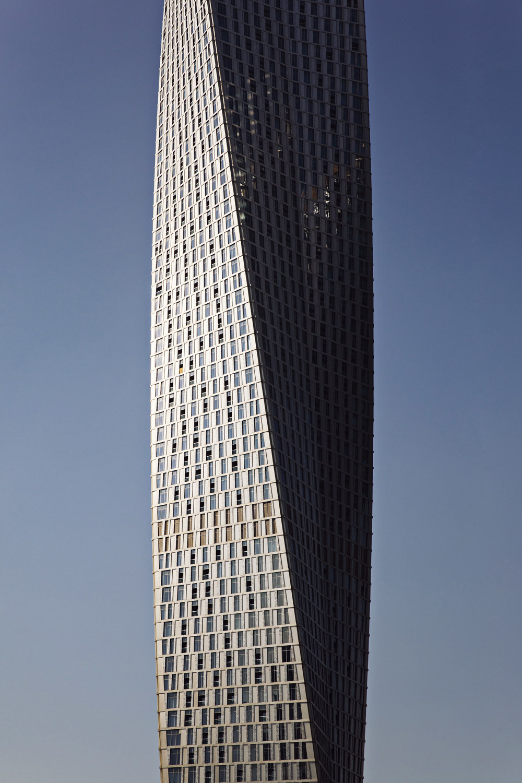 Cayan Tower. Dubai, UAE. December 2018.